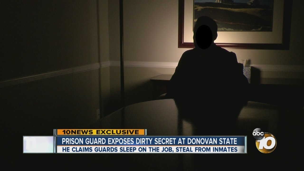 Prison guard exposes dirty secret at Donovan State