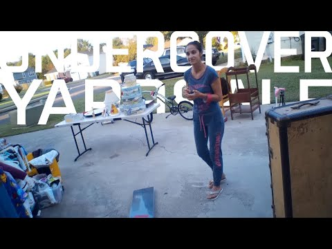 Undercover Yard Sale Haul 9-16-2017