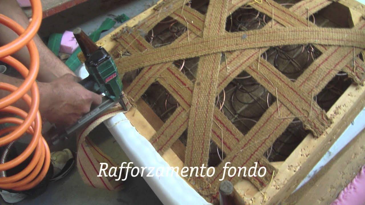 Rifacimento poltrona zoppini salotti youtube for Rivestire una vecchia poltrona