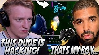 Tfue SHOCKED And ACCUSES Drakes Best Friend For AIMBOT After What He Did In This Game...