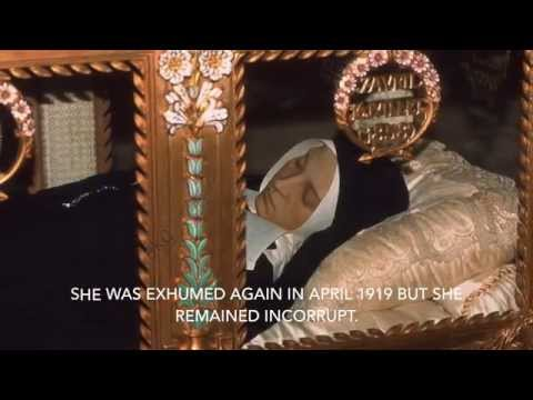 Part 2 of 15: A Visit to St  Bernadette in Nevers, France.