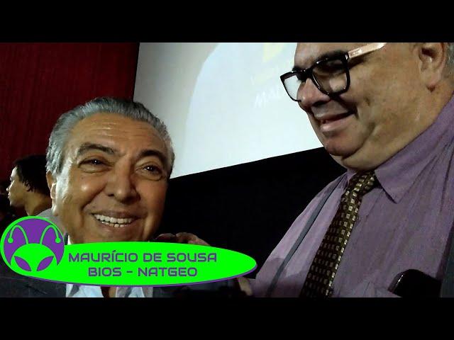 ENTREVISTA | Maurício de Sousa e Fábio Porchat (BIO: Vidas que Marcaram a Sua)