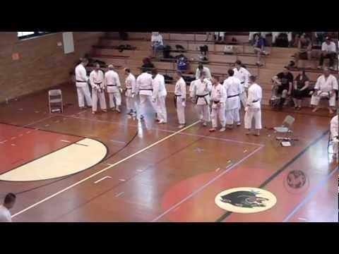 2012 Mens Black Belt Kumite C01 Mid-America Region I.S.K.F.