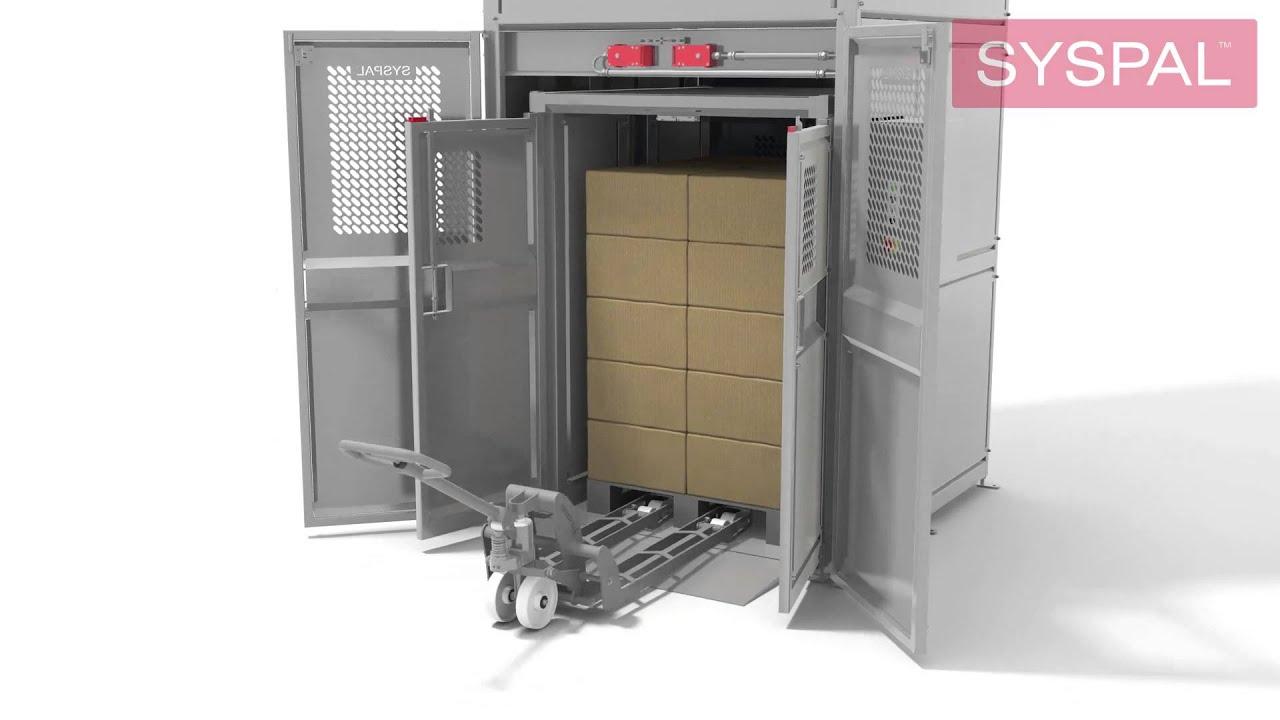 Goods Lifts | UK Manufacturer | SYSPAL | UK