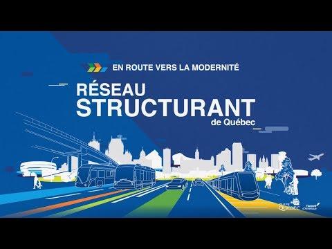 Présentation du projet - Réseau structurant de transport en commun  (1/4)