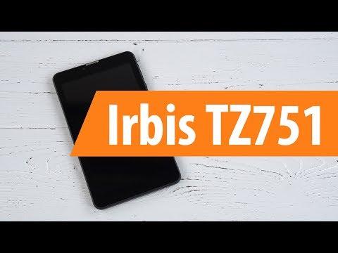 Распаковка Irbis TZ751 / Unboxing Irbis TZ751