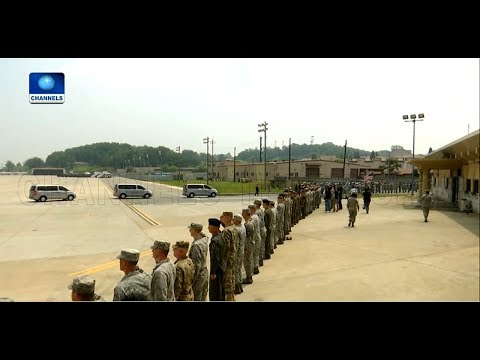 Trump Lauds Kim Jong Un As North Korea Returns Remains Of US Soldiers |Diplomatic Channel|