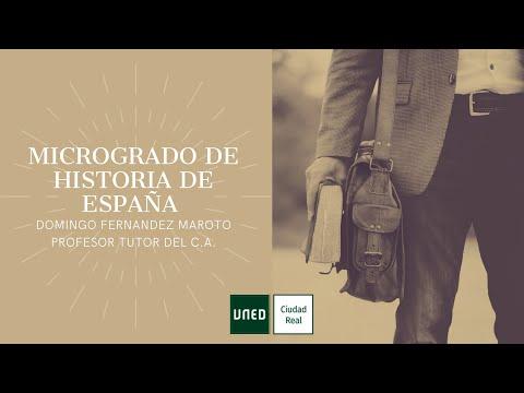 MICROGRADO DE HISTORIA DE ESPAÑA (Domingo Fernández Maroto)