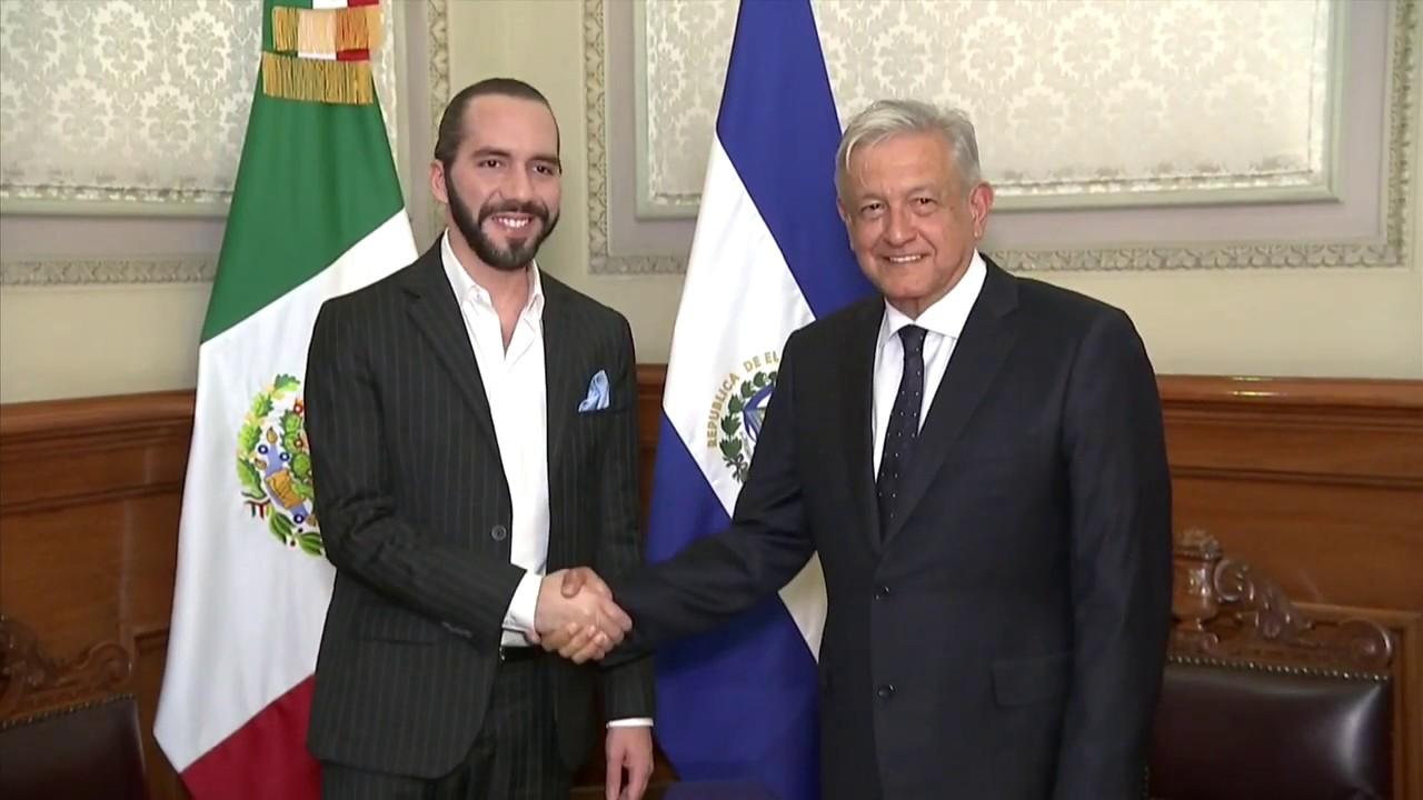Resultado de imagen para Migración forzada protagoniza reunión de López Obrador y Nayib Bukele