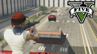 COHETES QUE PRODUCEN ESCOZOR ANAL!!! xD RPG VS CARS - GTA V ONLINE