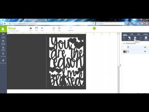 MAKING A CARD IN CRICUT DESIGN SPACE (CDS)