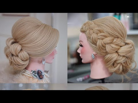 Elegnat Updo Hairstyles – Quick And Easy Updo Hairstyles With Braids