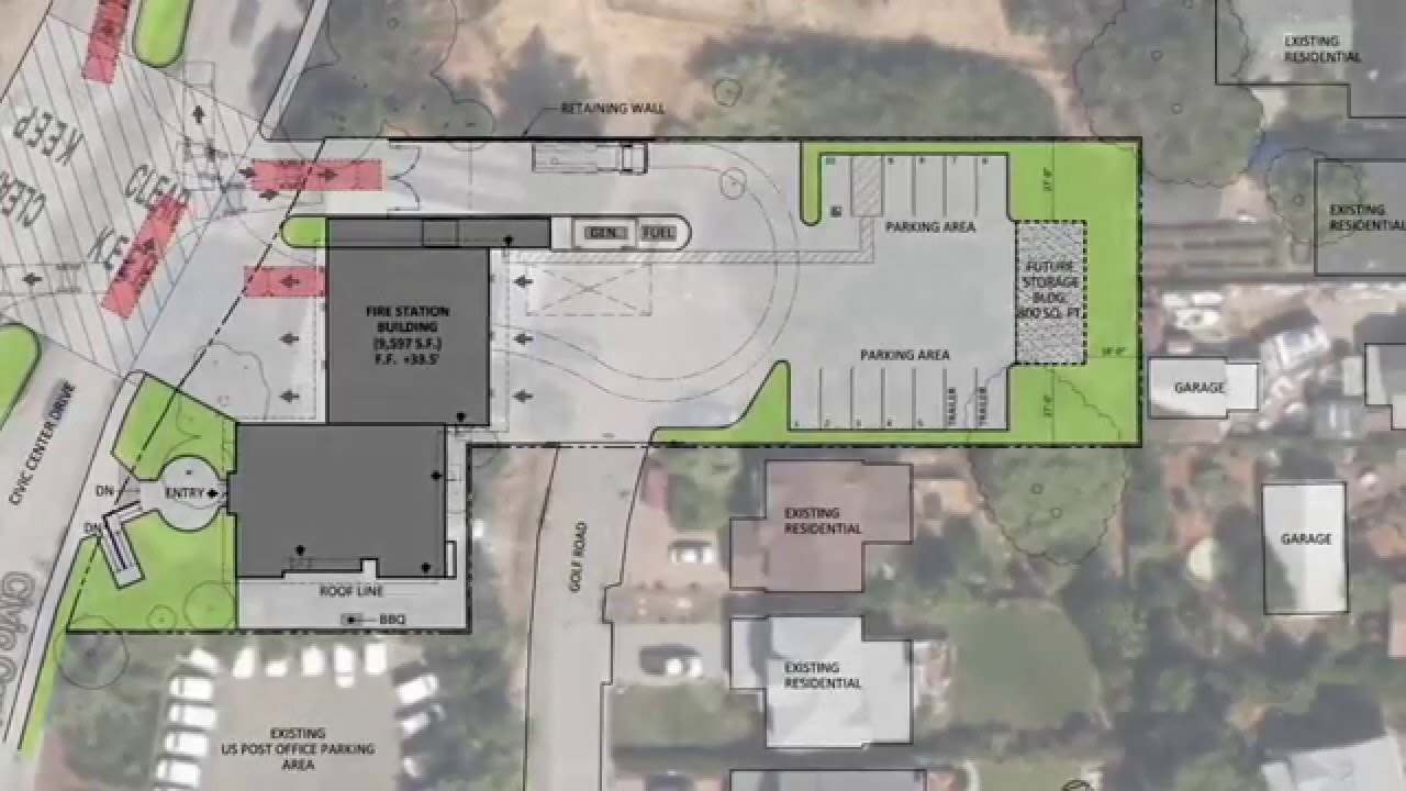 San Rafael Essential Facilities Fire Station 57 Design Plans Youtube