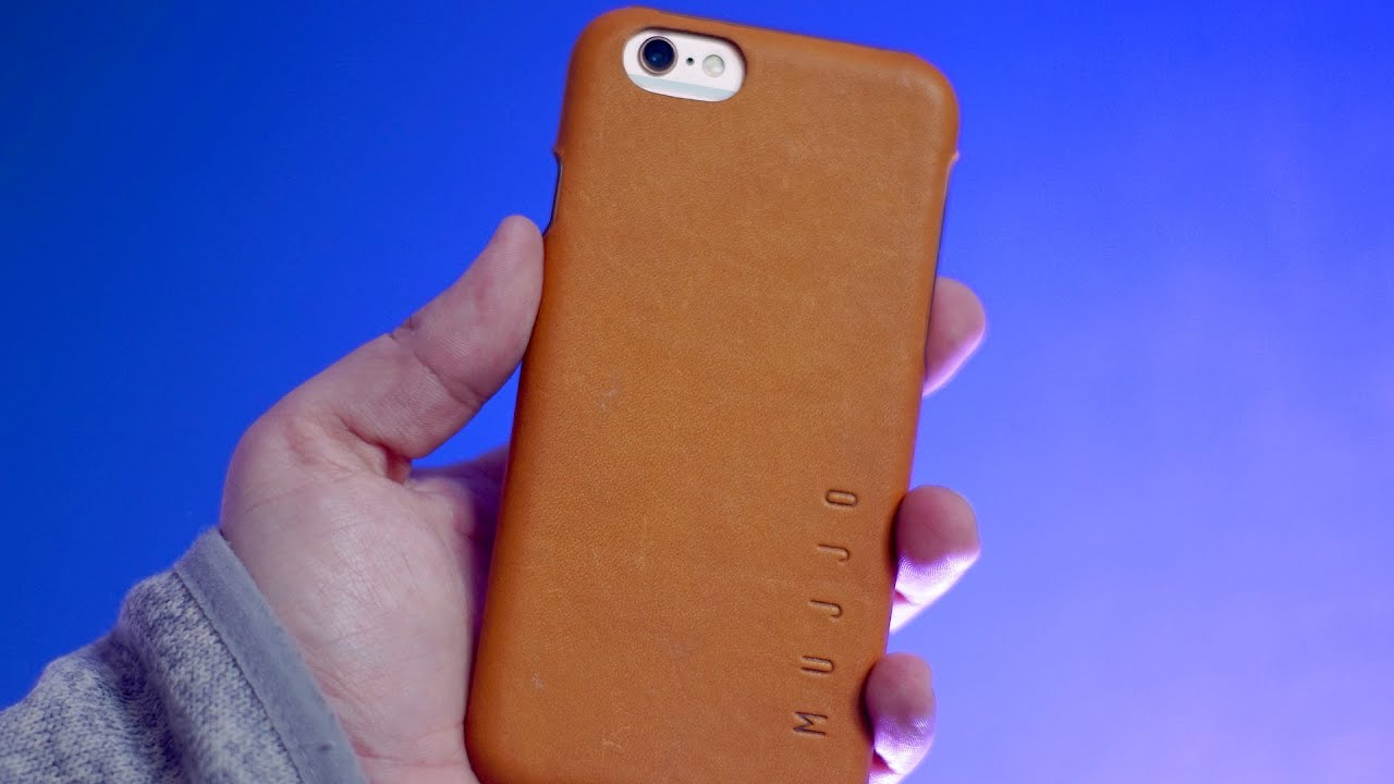 new styles 6a5cb 80982 Mujjo Leather Cases for iPhone 6s and 6s Plus | Review