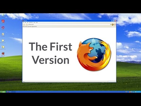 Looking Back At the First Version of Mozilla Firefox!