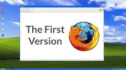 Looking Back At the First Version of Mozilla Firefox