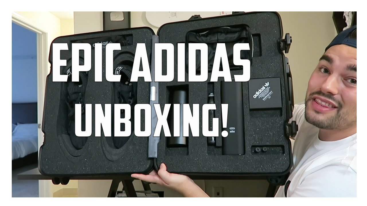 fe607dd704085 NO THEY DIDN T!!! EPIC ADIDAS UNBOXING! - YouTube