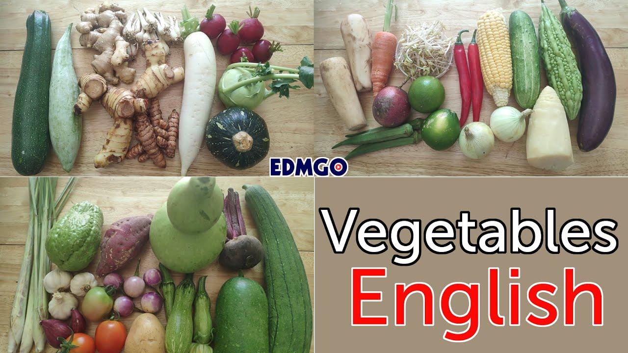 35 Vegetables Name in English: Daikon, Radish, Pickled Small Leeks [Củ Kiệu Tiếng Anh Là Gì?]
