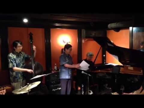 Twilight Special Jazz & Bar em's Pro-Ama Quartet (e-PAQ) on 12 July 2014(Ida, sweet as apple cider)