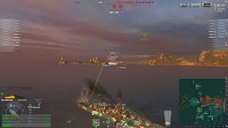 World of warships - DO NOT do this to your ears - DEVILS WORK end of the match