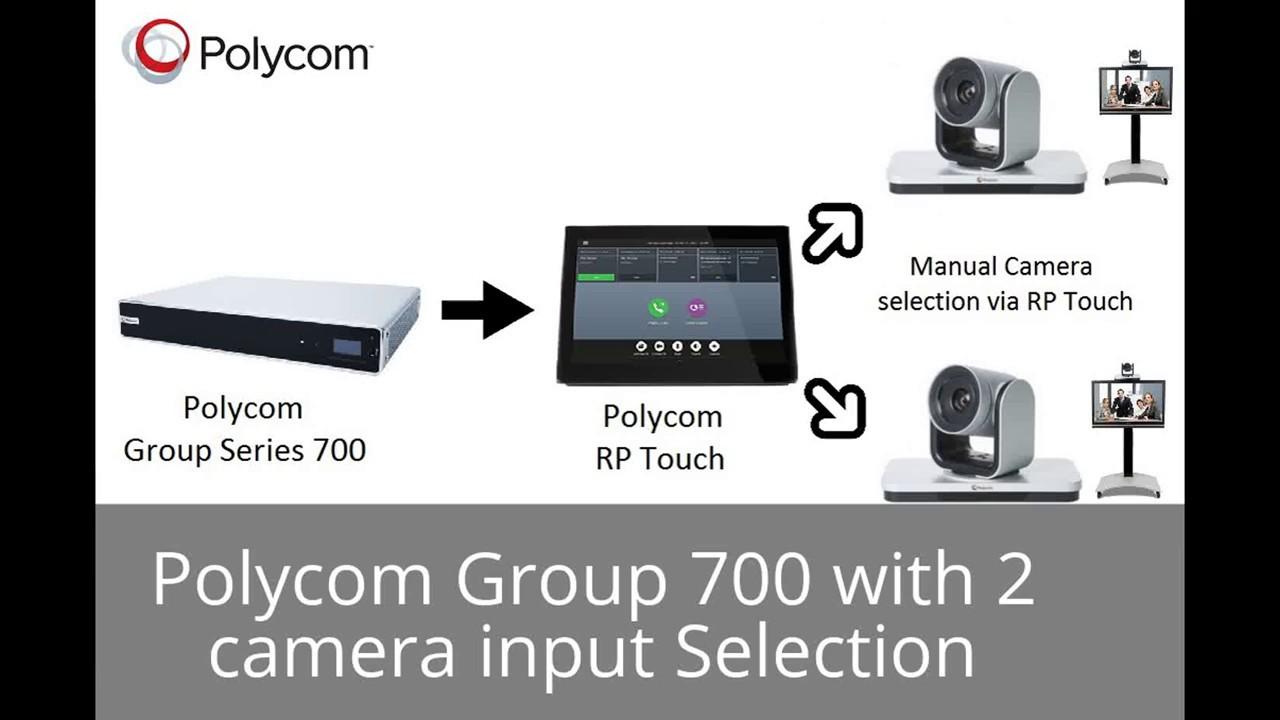 Multiple Polycom Camera