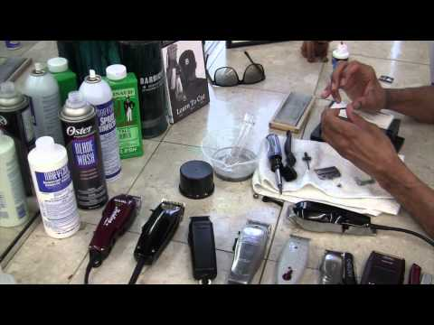 Wahl Senior - How To Sharpen Clippers - Wahl 5 Star Senior By David Warren