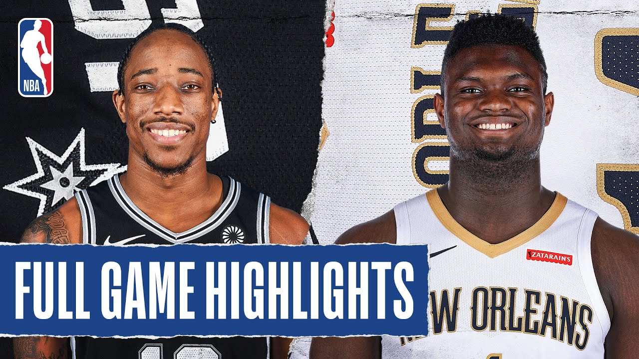 SPURS at PELICANS | FULL GAME HIGHLIGHTS | August 9, 2020