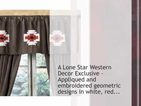 Southwest Designs Valance - CLEARANCE - lonestarwesterndecor.com
