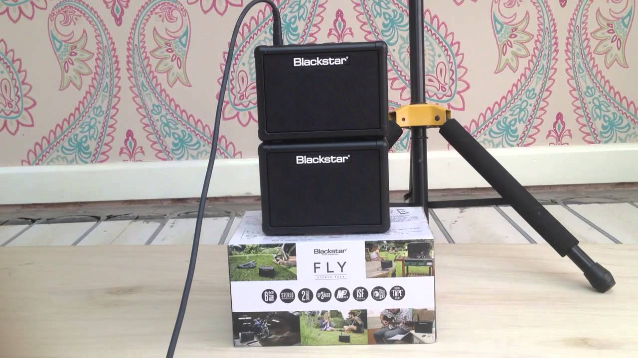 Blackstar Fly 3 Stereo Pack (103 extension cab) amp demo - YouTube