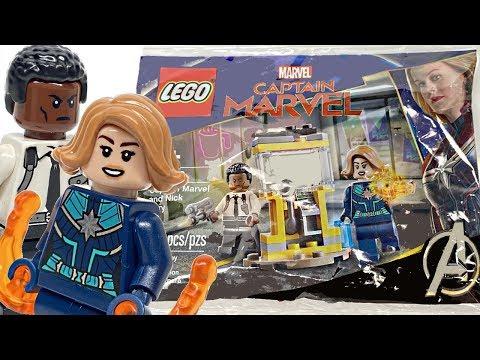 Captain Marvel and Nick Fury Polybag NEU Avengers LEGO 30453 Super Heroes