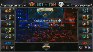 SKT vs TSM Day 1 (MSI 2015 - Mid Season Invitational Group Stage)