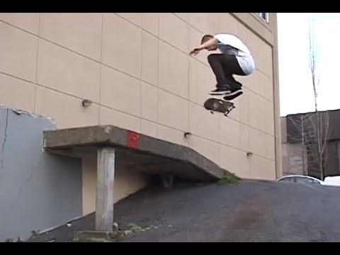 Skateboarding in Seattle - Josh Peterson
