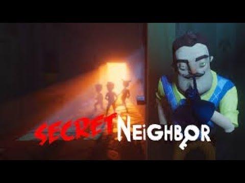 Secret Neighbor  ▶  jogando com amigos
