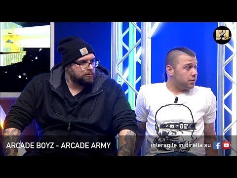 ARCADE BOYZ 🦀 ARCADE ARMY 💿 LIVE SU HIP HOP TV 👊🏻📲