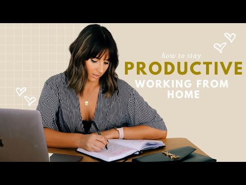 work-from-home-habits-||-stay-productive-and-organised