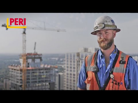 Construction Of The Austin Marriott Downtown With DPR And PERI (EN)