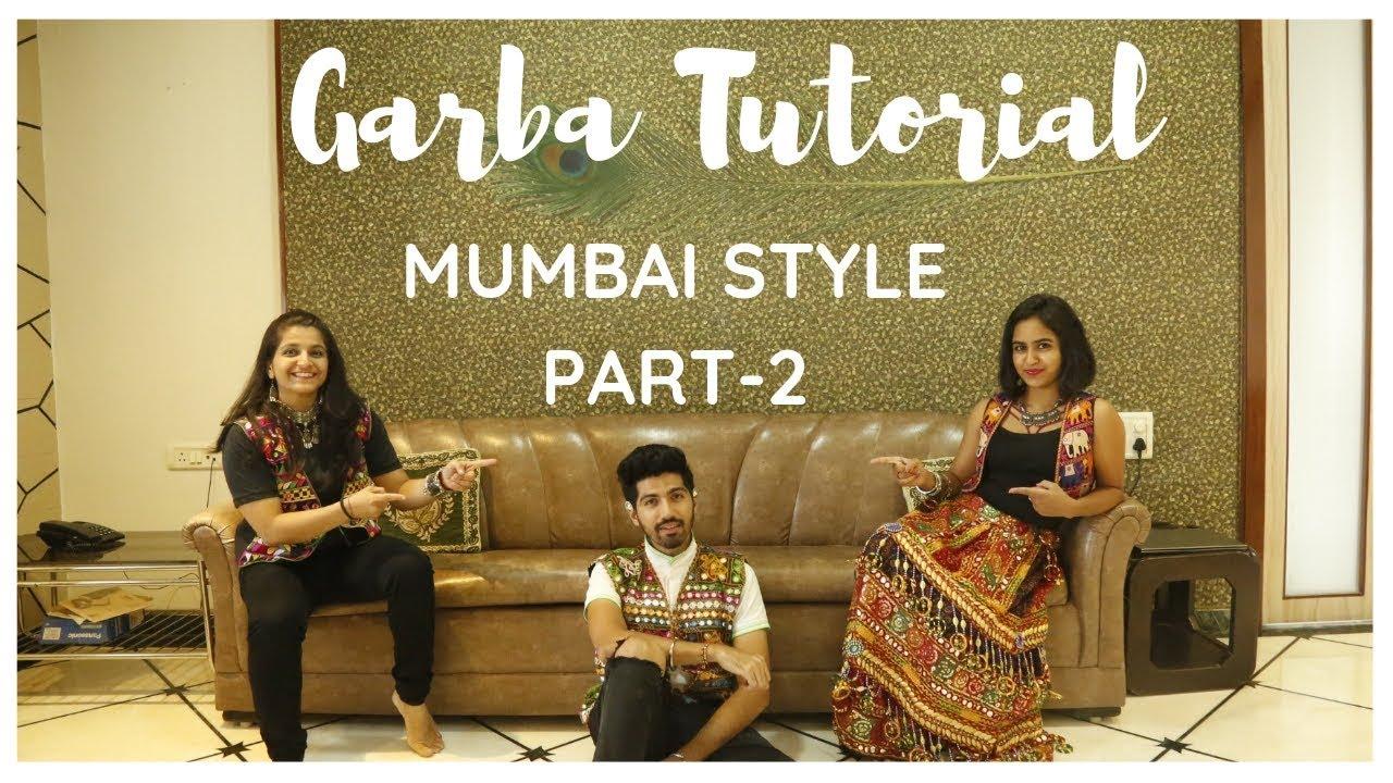 Garba Tutorial Video   Garba Steps Video   Learn Garba   Mumbai Style   Jenish Doshi   Part-2