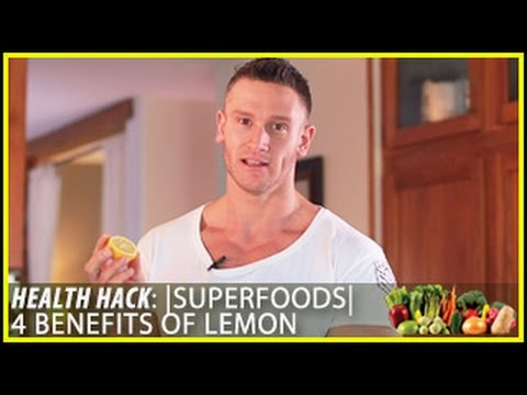 Superfoods | 4 Benefits of Lemon: Health Hack- Thomas DeLauer