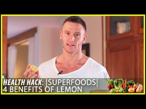 Superfoods | 4 Benefits Of Lemon: Health Hack- Thomas DeLauer