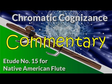 Native American Flute Etude No. 15 - Chromatic Cognizance - Full Commentary