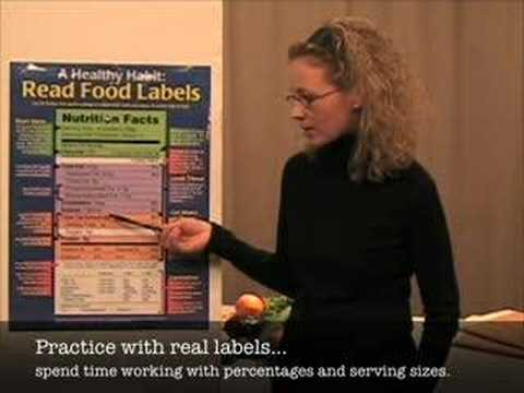 How to Teach...the Nutrition Facts Panel.