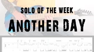 Solo Of The Week: 15 Dream Theater - Another Day tab