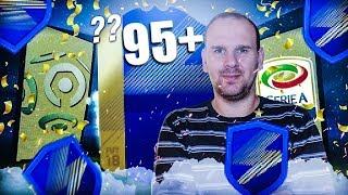 FIFA 18 - BACK TO BACK TOTS 95 + !!!
