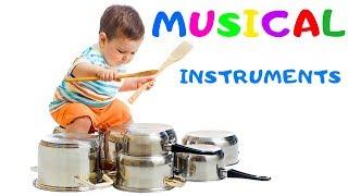 Музыка Для Детей. Уроки Английского. Учим Музыкальные Инструменты На Английском для Детей. Барабан