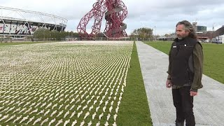 عمل تذكاري من 72 ألف دمية لتخليد ضحايا الحرب العالمية الأولى…
