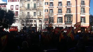 Más de un millar de personas claman en Palma por la unidad de España