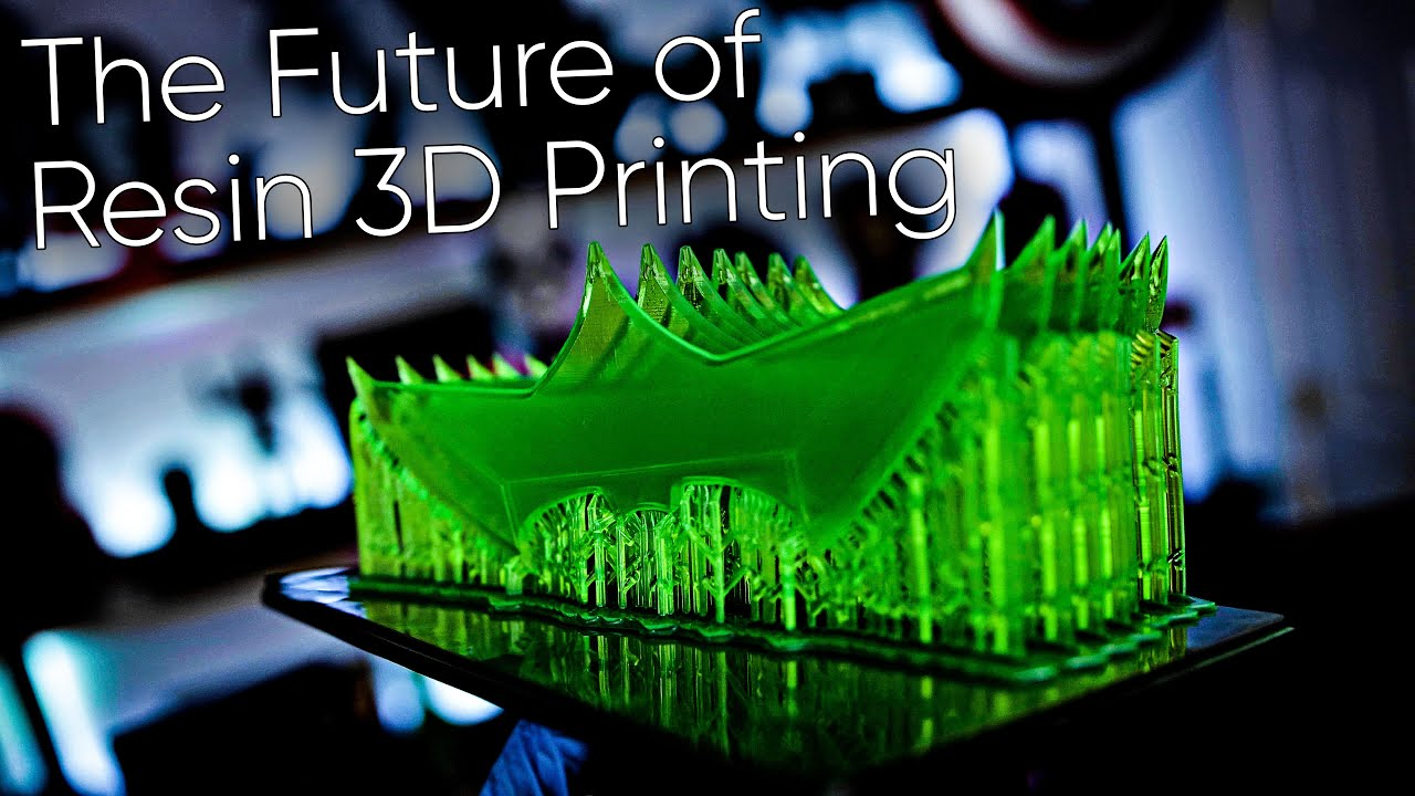 The Future of Resin 3D Printing