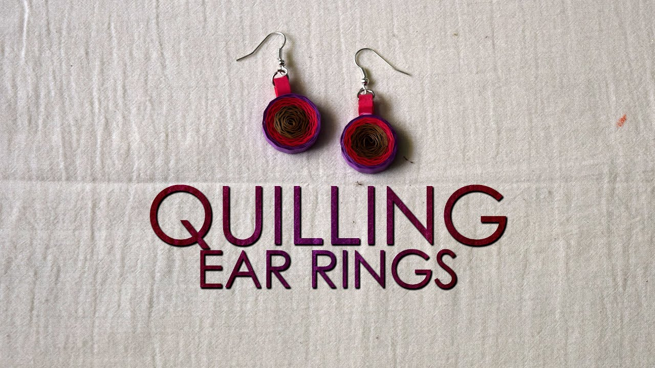 Papercraft DIY | Quilling Earrings Designs | Quilling Designs | Quilling Tutorial