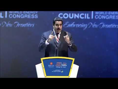 Maduro Address  World Energy Congress 2016
