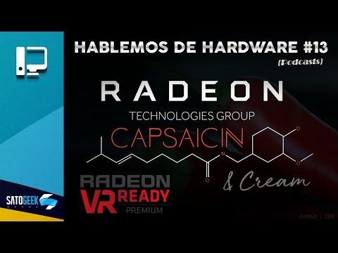 No presentación vega: AMD Capsaicin & Cream, en Directo: Evento #1